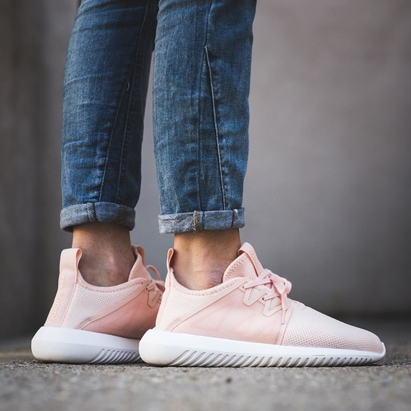 601840c96ce3 adidas Shoes - Adidas Originals Tubular Viral 2 W in white pink